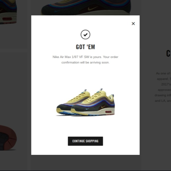 Nike Air Max 197 Sean Wotherspoon Size 13